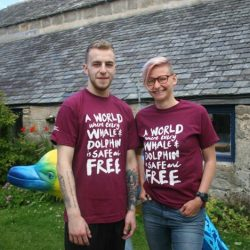 WDC burgundy t-shirt