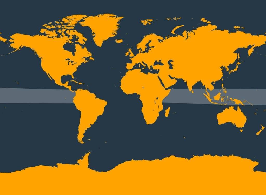 Deraniyagala's beaked whale distribution map