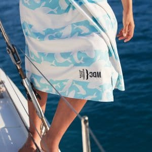 Humpbacks ahoy! New limited edition whale towel is launched by Dock & Bay